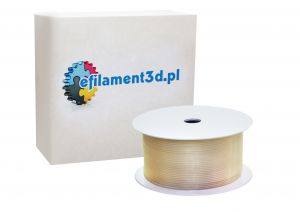 Filament PET 1,75 mm BEZBARWNY - TRANSPARENTNY 200 g