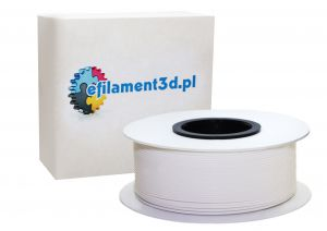 Filament PET 1,75 mm BIAŁY 0,5 kg