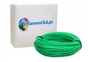 Filament ABS 1,75 mm CIEMNY ZIELONY 100 g