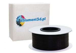 Filament PET 1,75 mm CZARNY 1 kg