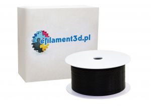 Filament ABS 1,75 mm CZARNY 200 g