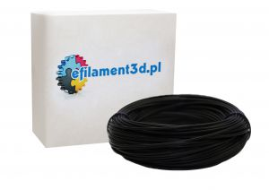 Filament PET 1,75 mm CZARNY 100 g