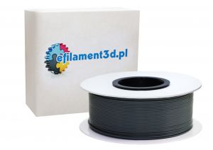 Filament ABS 1,75 mm SZARY 0,5 kg