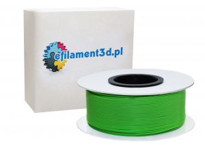 Filament PLA 1,75 mm ZIELONY 1 kg
