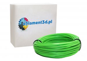 Filament PLA 1,75 mm ZIELONY 100 g