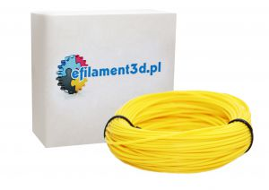 Filament PET 1,75 mm ŻÓŁTY 100 g