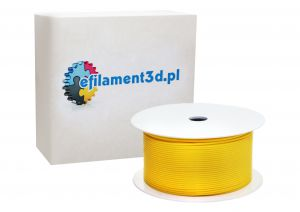 Filament RUBBER 1,75 mm ŻÓŁTY 200 g GUMA