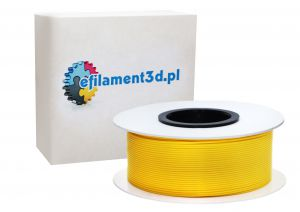 Filament PET 1,75 mm ŻÓŁTY 1 kg
